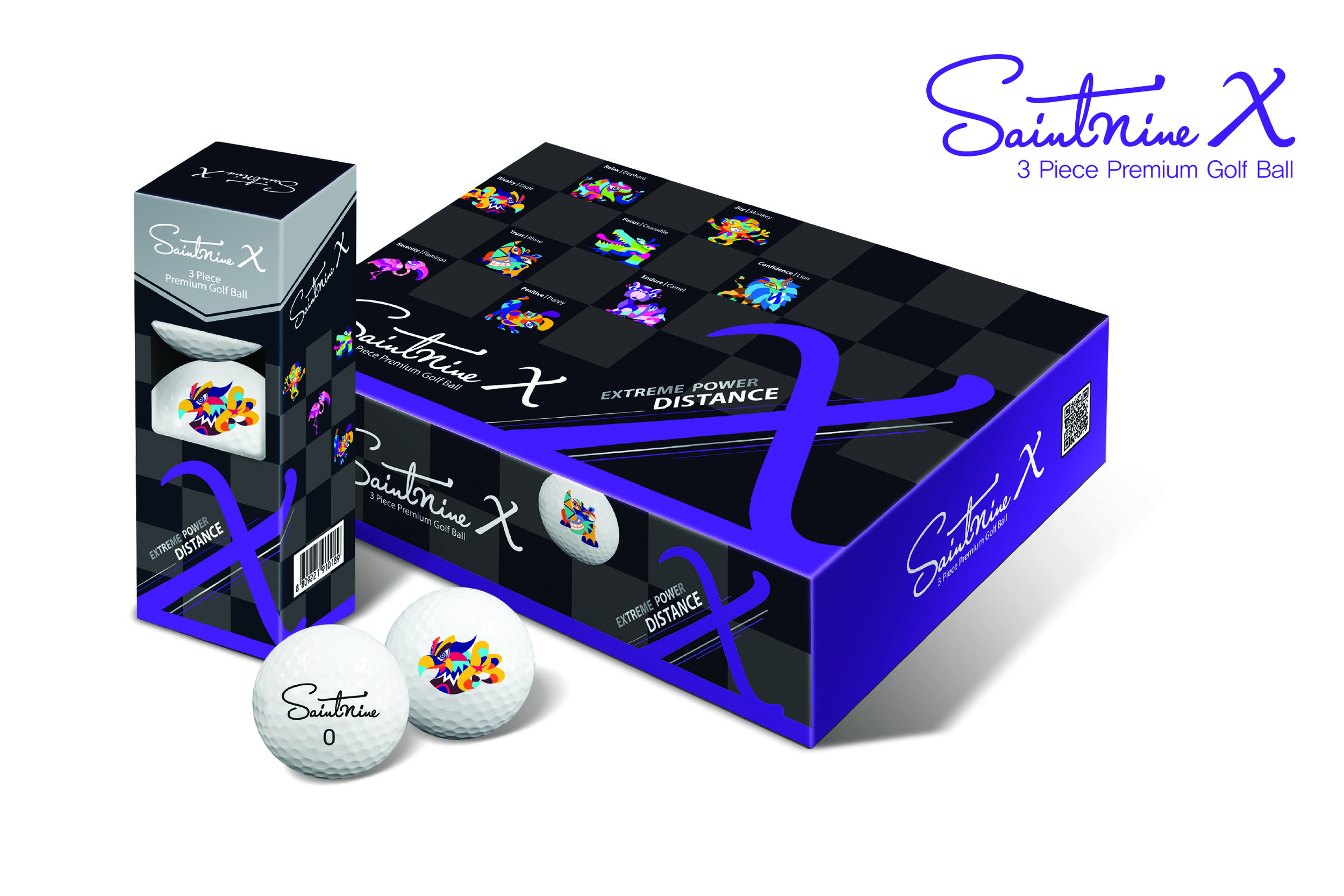 SaintNine's packaging looks more like a box of luxury chocolates - and there is something very tasty inside.