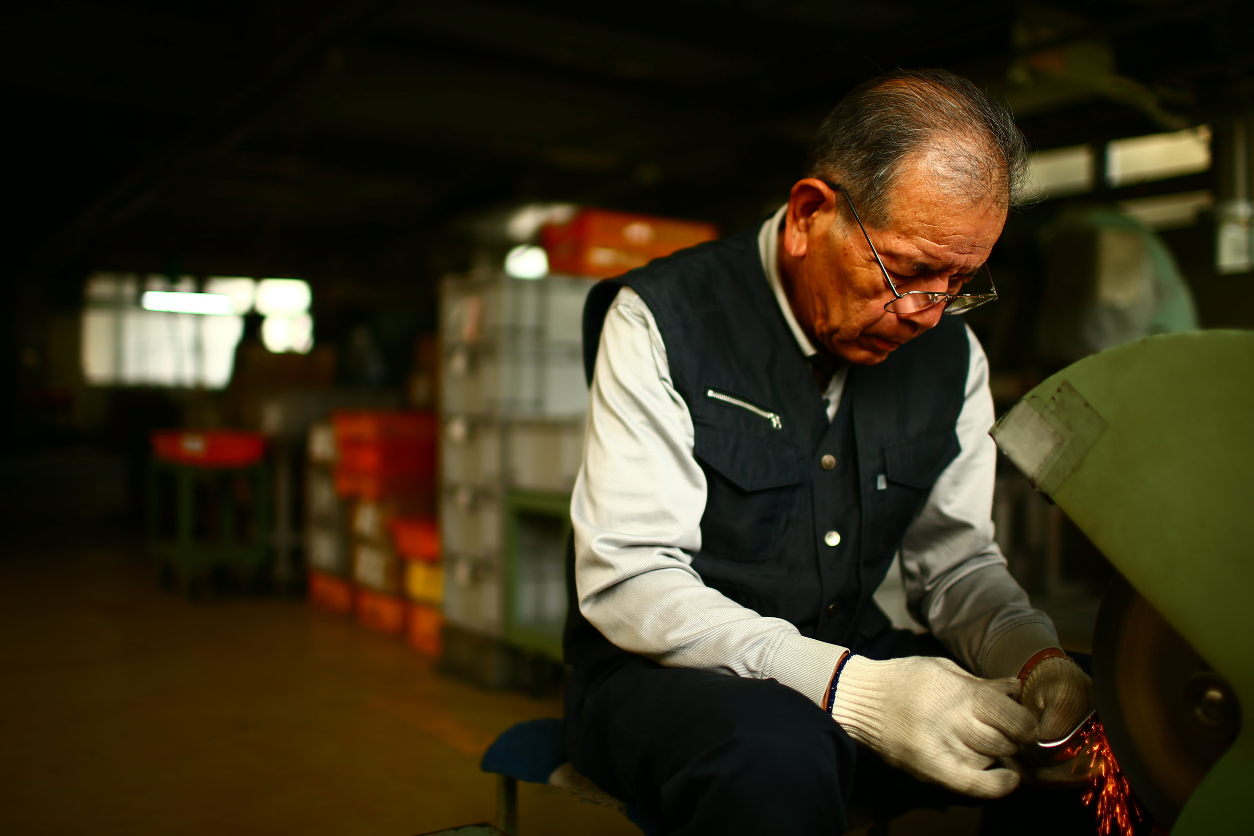 Miura have been making clubs by hand since 1957