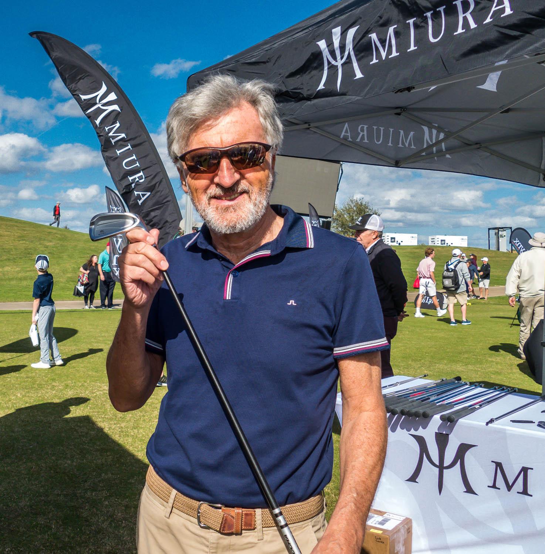 Miura at Demo Day, The PGA Merchandise Show, 2019, Orlando, Florida, David J Whyte © Linksland.com-2.jpg