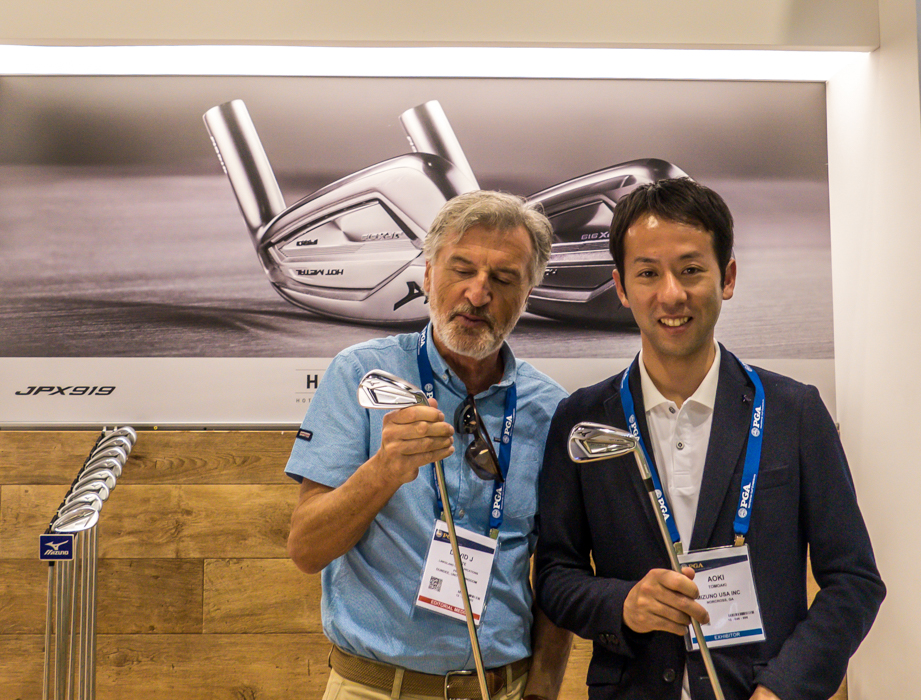 Aoki from Mizuno USA introduced me to the new JPX919
