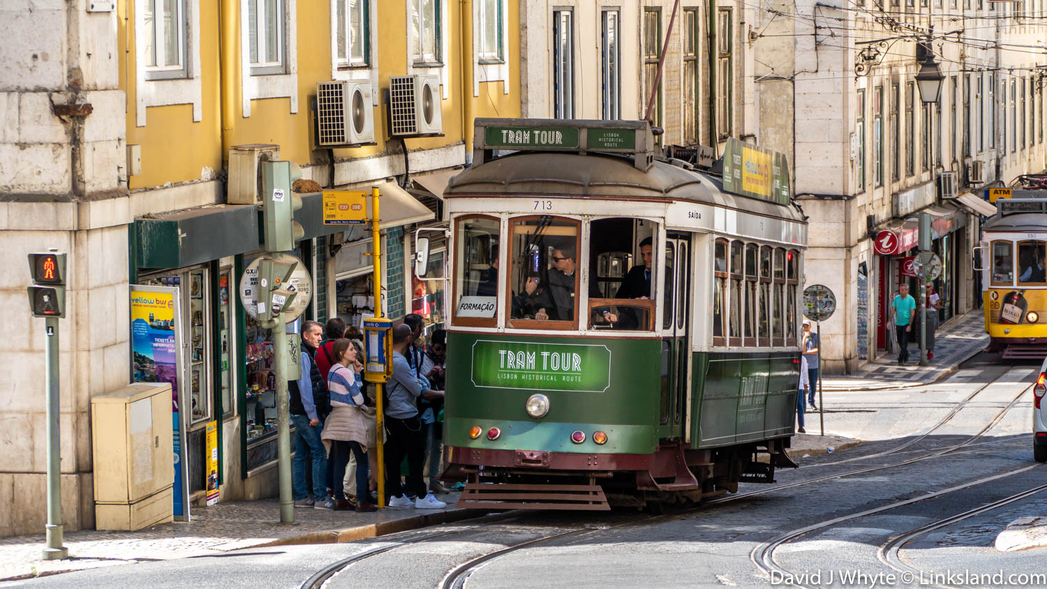 Enjoy a private tram tour of the old parts of Lisbon accompanied by a wine-tasting