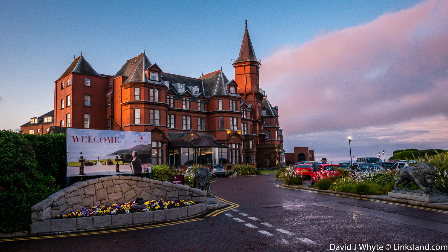 Slieve Donard Resort & Spa by Royal County Down Golf Club in Northern Ireland
