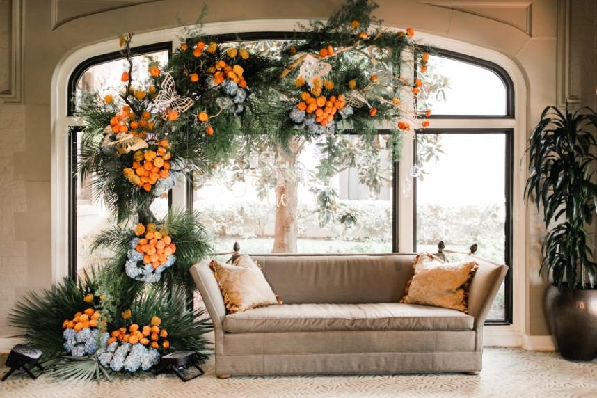 """La Vie En Rose""  Florist ||  The Fleuriste   Planner ||  Judy Lehmbeck"