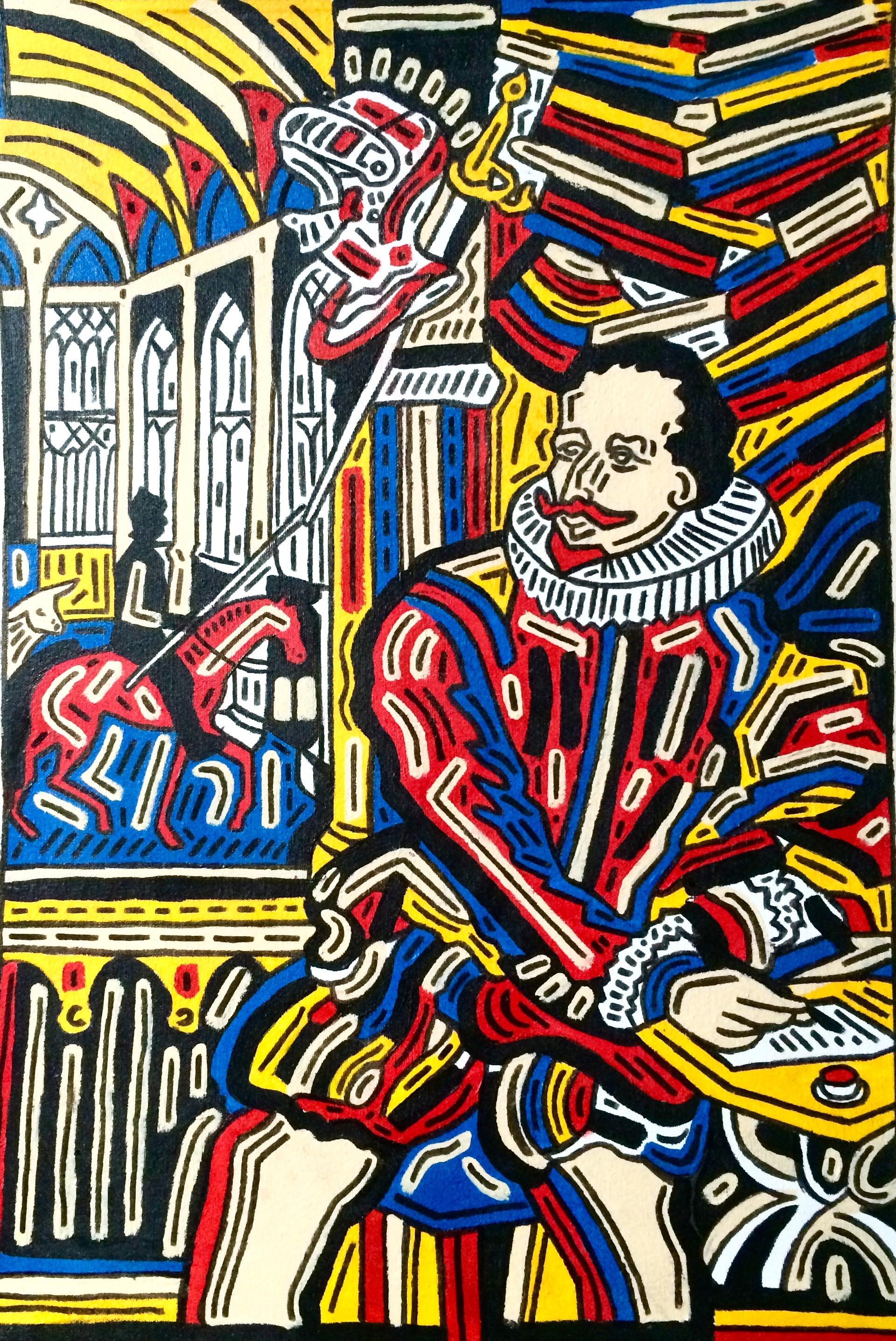 El príncipe de los ingenios, Miguel de Cervantes