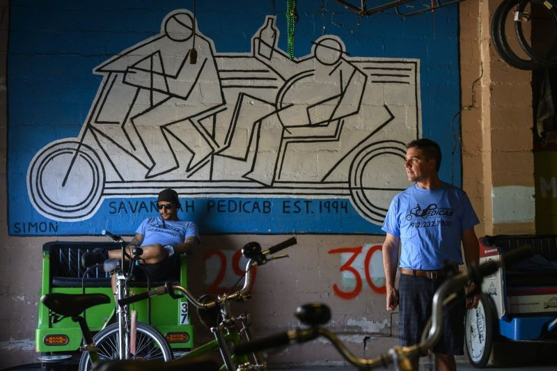 Savannah Pedicab Est. 1994