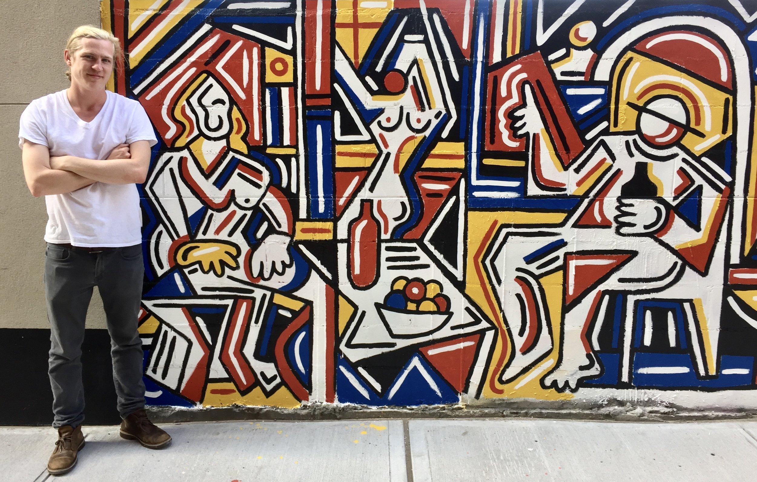 Welling Court Mural - Astoria, Queens