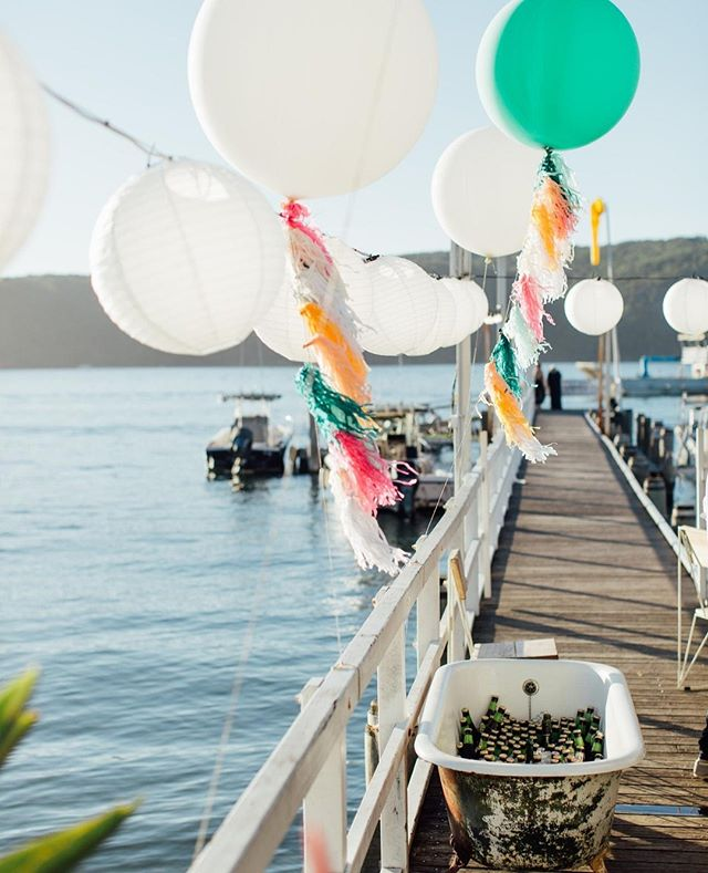 Celebrations at The Boathouse Palm Beach!⁠ #theboathousegroup #theboathousepalmbeach #weddings #eventssydney #watersidevenue
