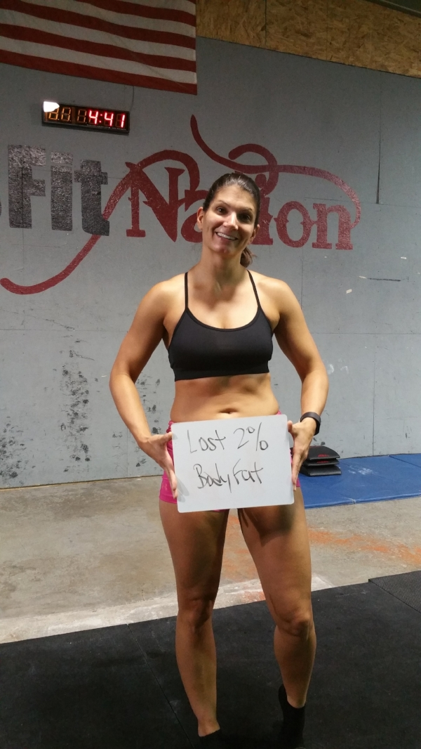 Bragging rights Well earned! Nice work, Steph!!! She did this is in 3 months time with careful eating and dedication to her workouts.