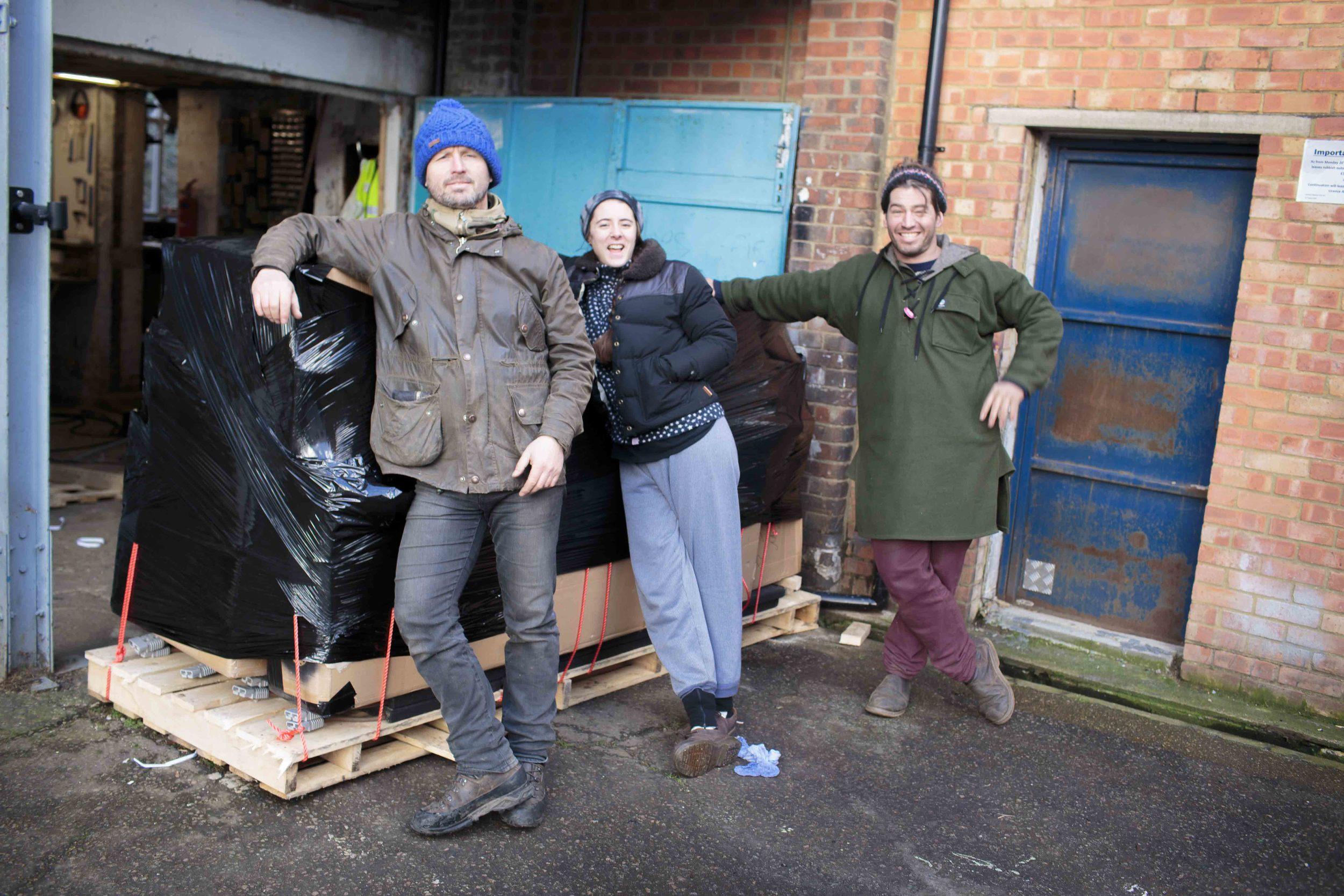 Electric Pedals team Peckham
