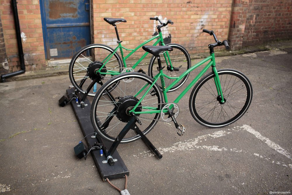 Busboard - Link pairs of bikes for stability and clean cable routing