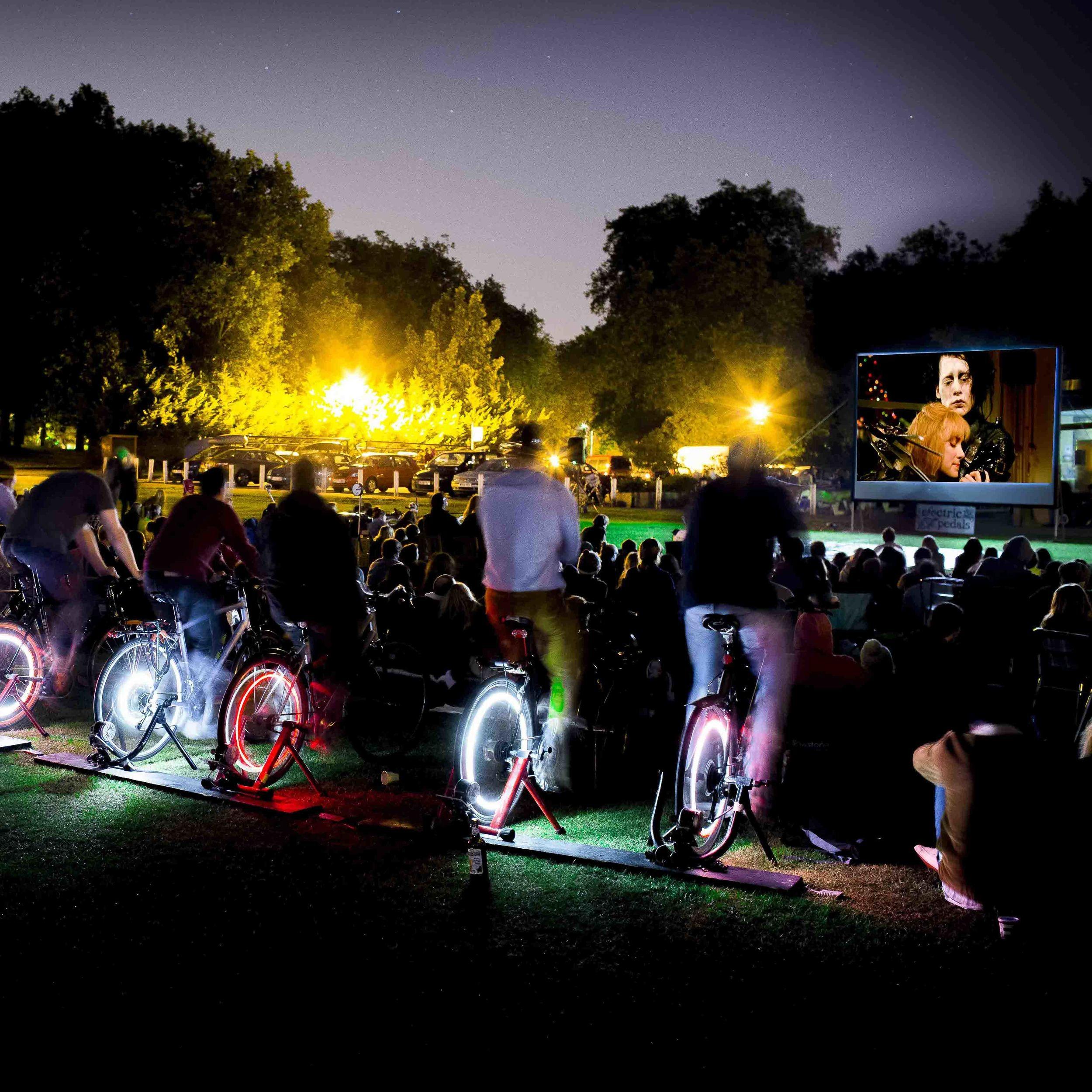 Bicycle Powered Cinema