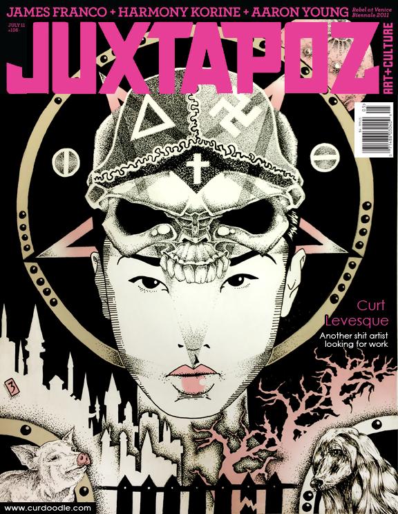 Juxtapoz Cover