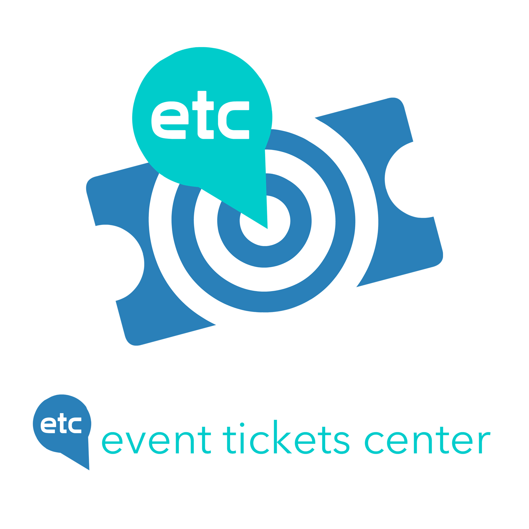 Event Tickets Center Logo • Re-Brand