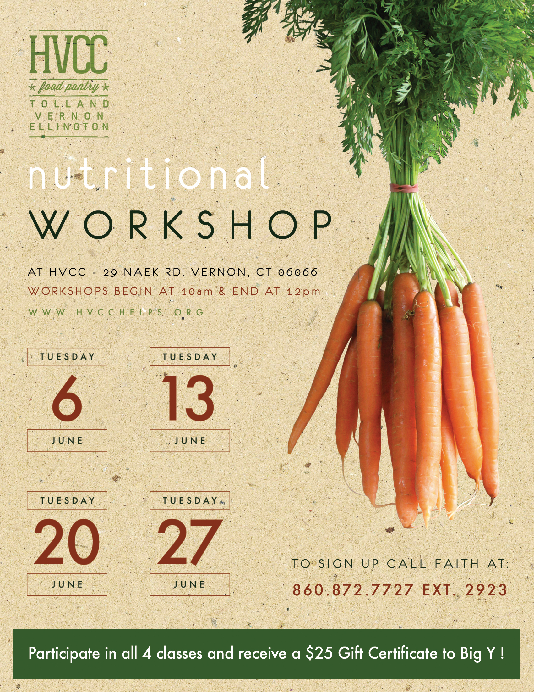 Community Workshop Promotion • Print/Web