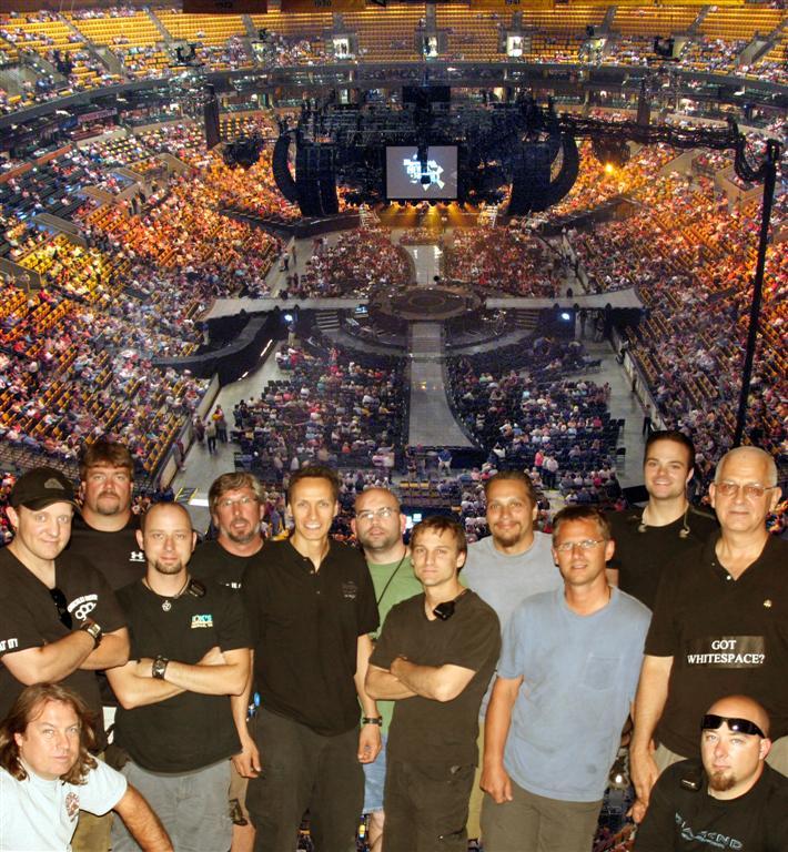 Audio crew for S2S 2008
