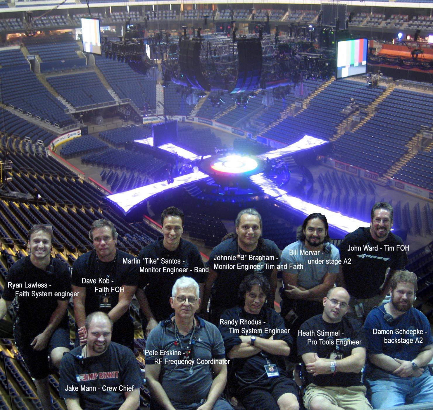 Audio crew for S2S 2007