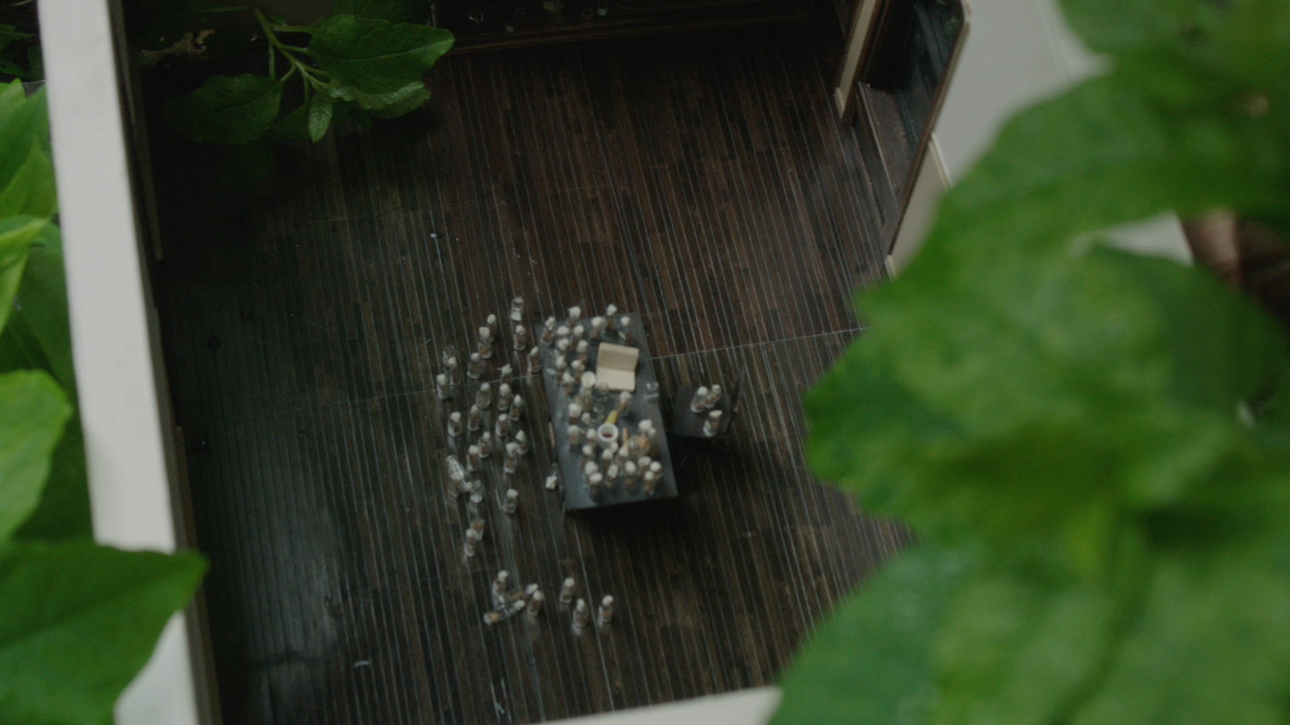 This miniature lab makes a cameo in the feature film during one of Betsey's dreams.