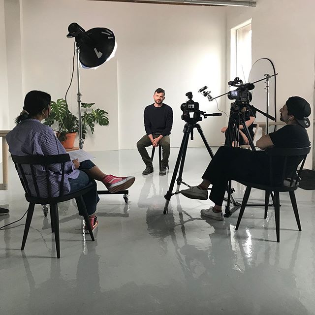 Yesterday we were delighted to welcome the talented @satyandpratha and crew into our studio for a photo/video shoot.  All in prep for the release of TorontoMakes - a book by @makejoy.co that features over 50 of Toronto's most exciting creative entrepreneurs and is due out this September.  We can't wait! .  #torontomakes #toronto #makejoy #localtalent #goraptors
