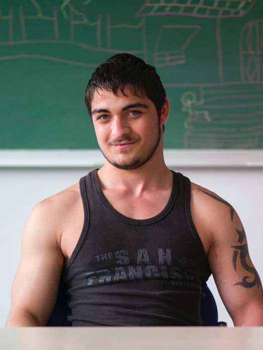 Denis, 18 Jahre alt, Sahy, Slowakei.