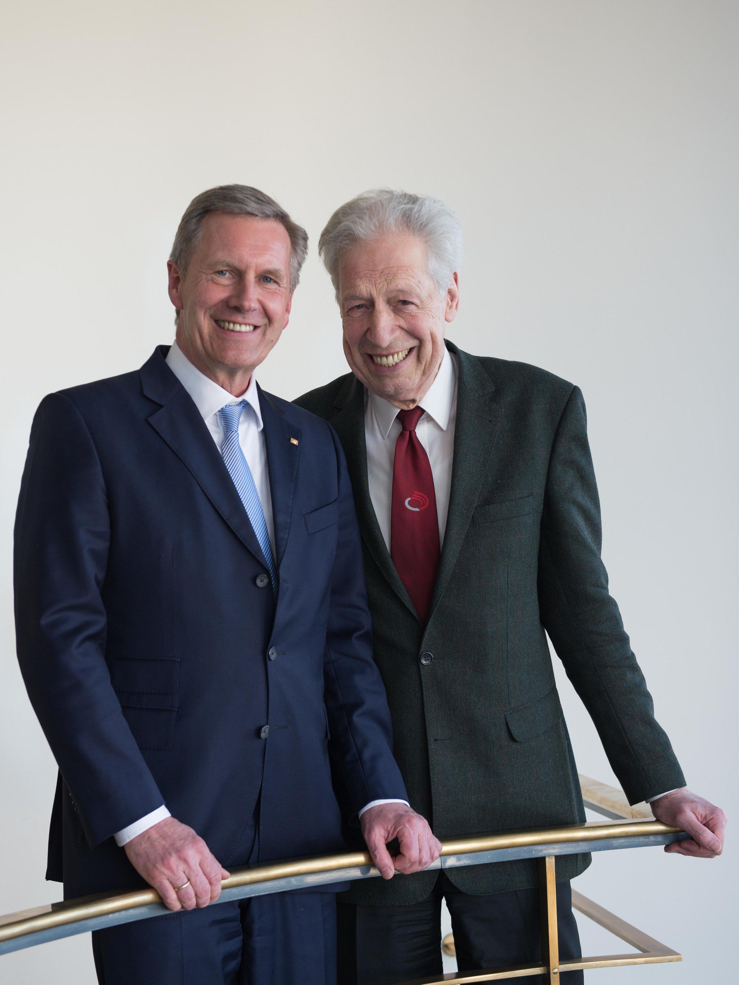 Christian Wulff & Henning Scherf