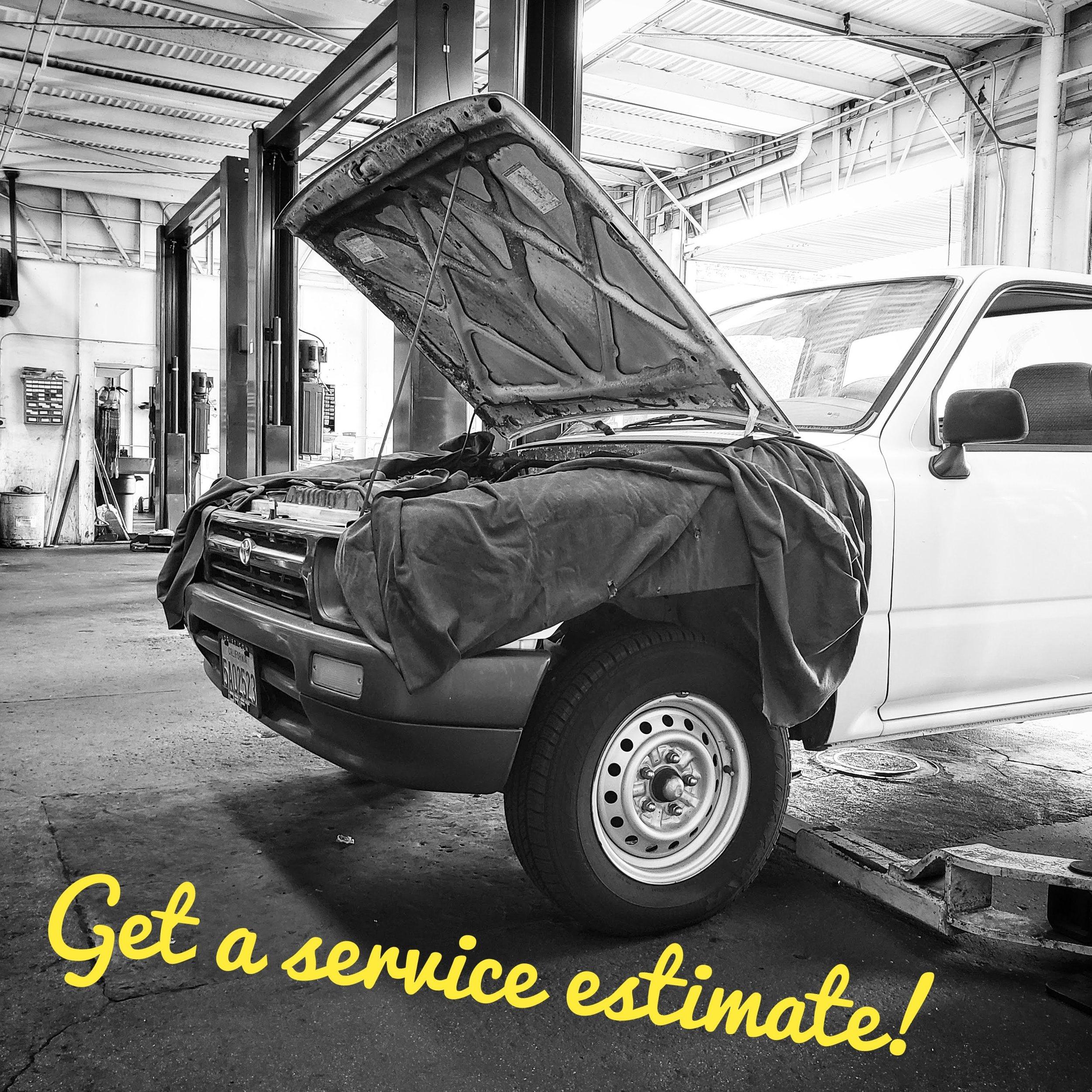 We LOVE fixing cars.