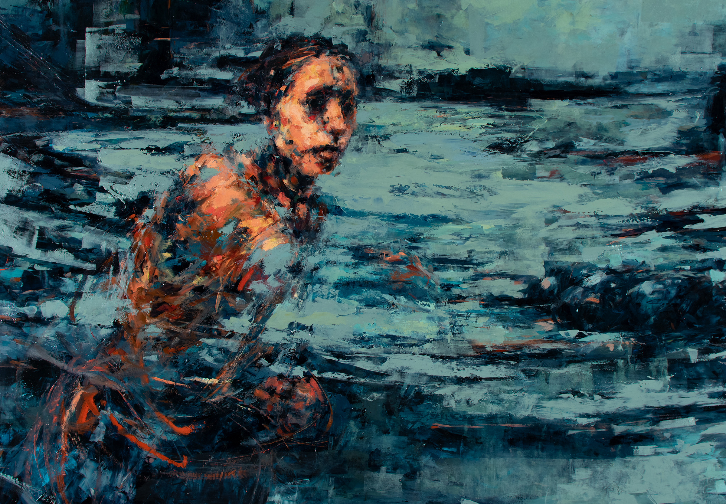 'Holding' (detail)