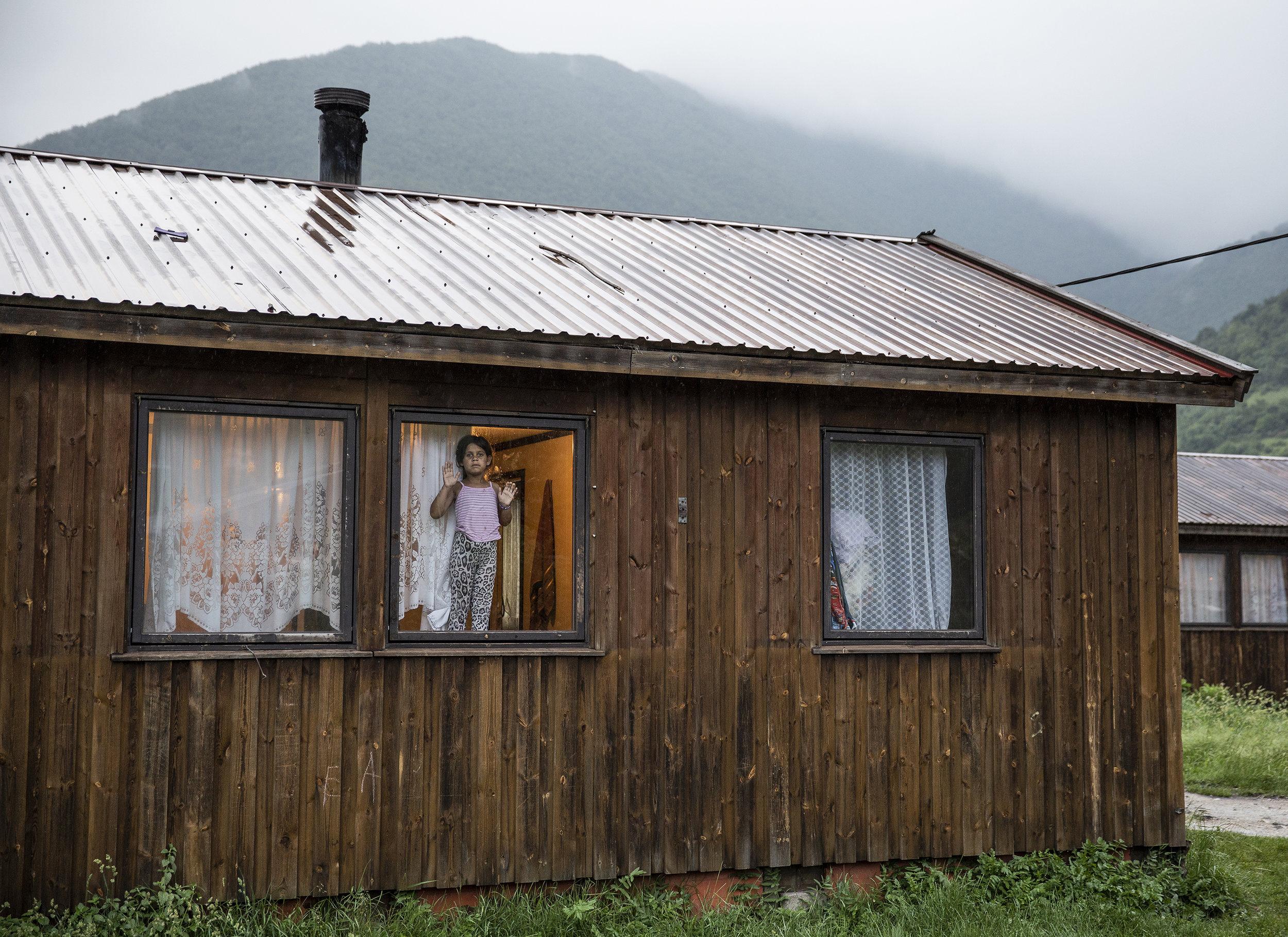 "'Roma Forgotten', 24"" x 36"" (framed), photographed 2017 in Bosnia-Herzegovina"