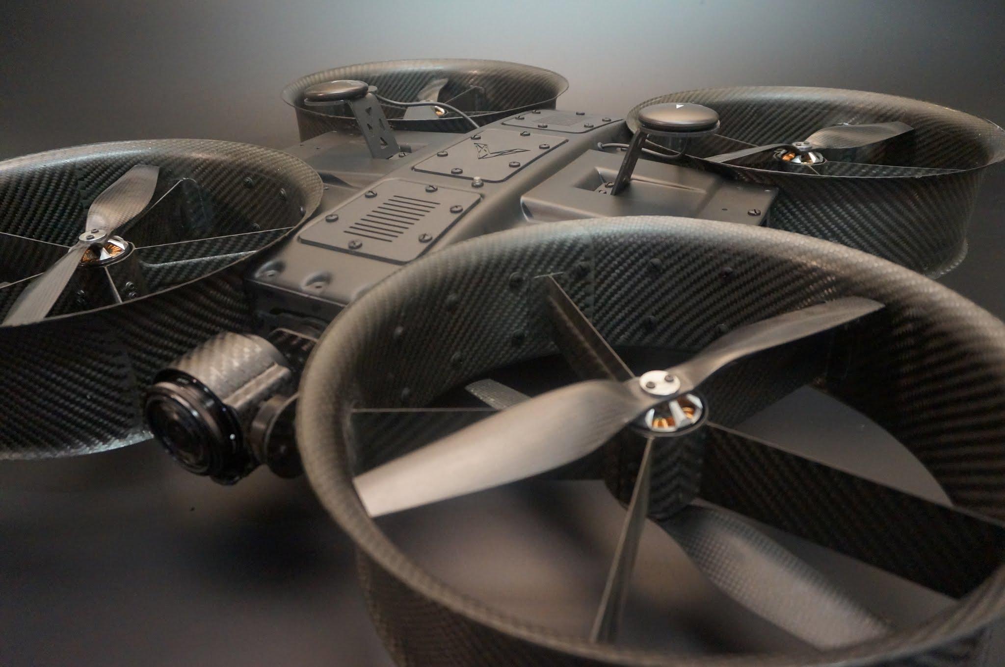AeroTestra MK10 Ducted Multi Rotor Aircraft — AeroTestra