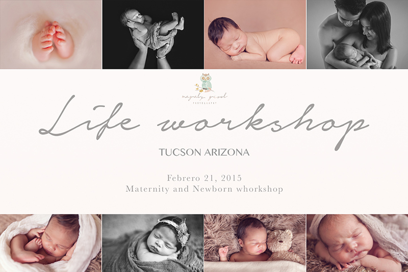 Scheduled for February. Magaly Gisel will be held workshop of maternity and newborn in TUCSON AZ..