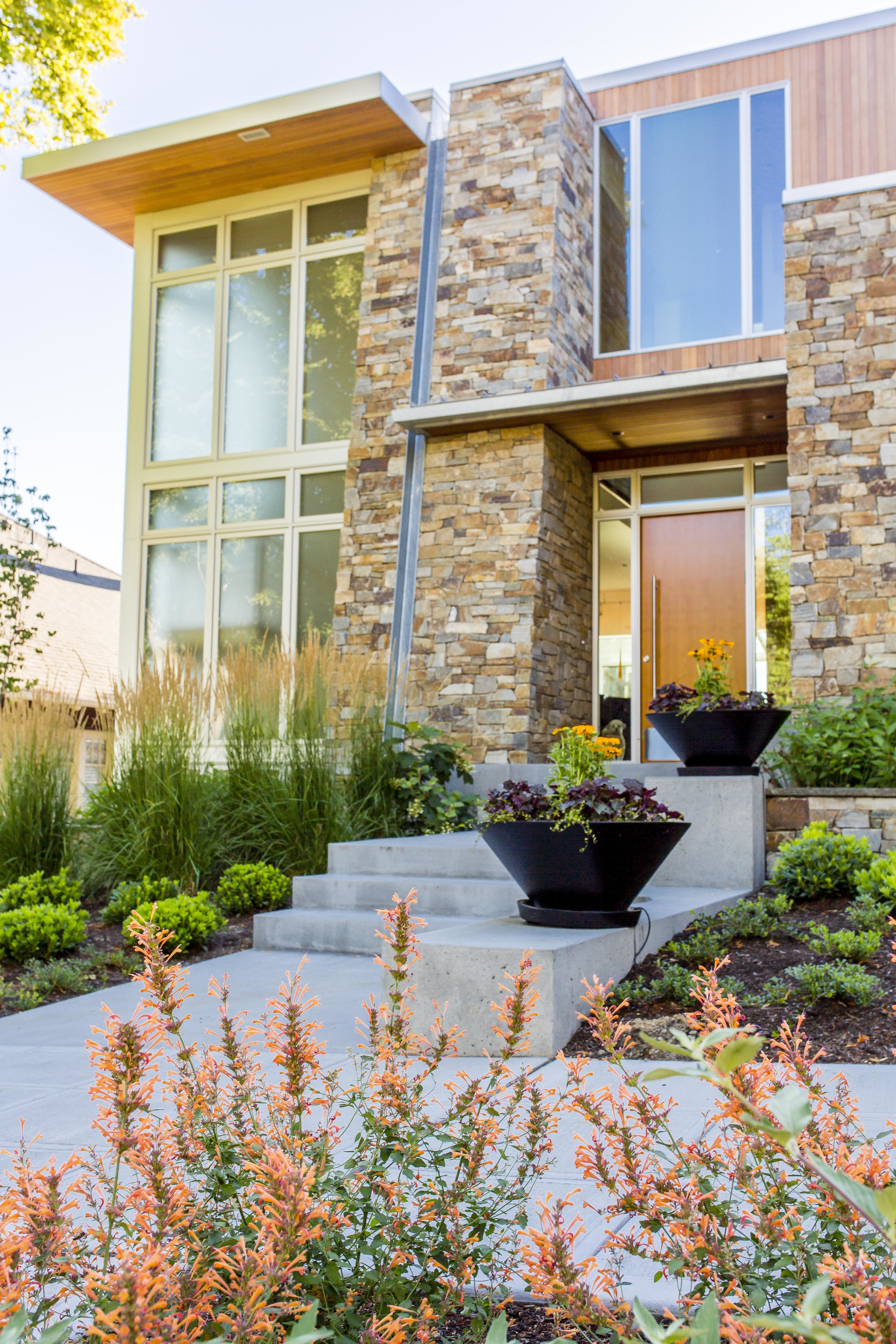 Capitol Hill Modern Home Seattle Project Groundwork Landscape Architects