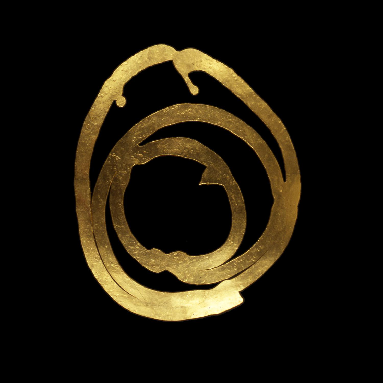 """1980s  24-karat gold, 2.5x3.5"""""""