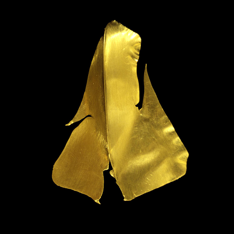 """1980s  24-karat gold, 1.5x2.5"""""""