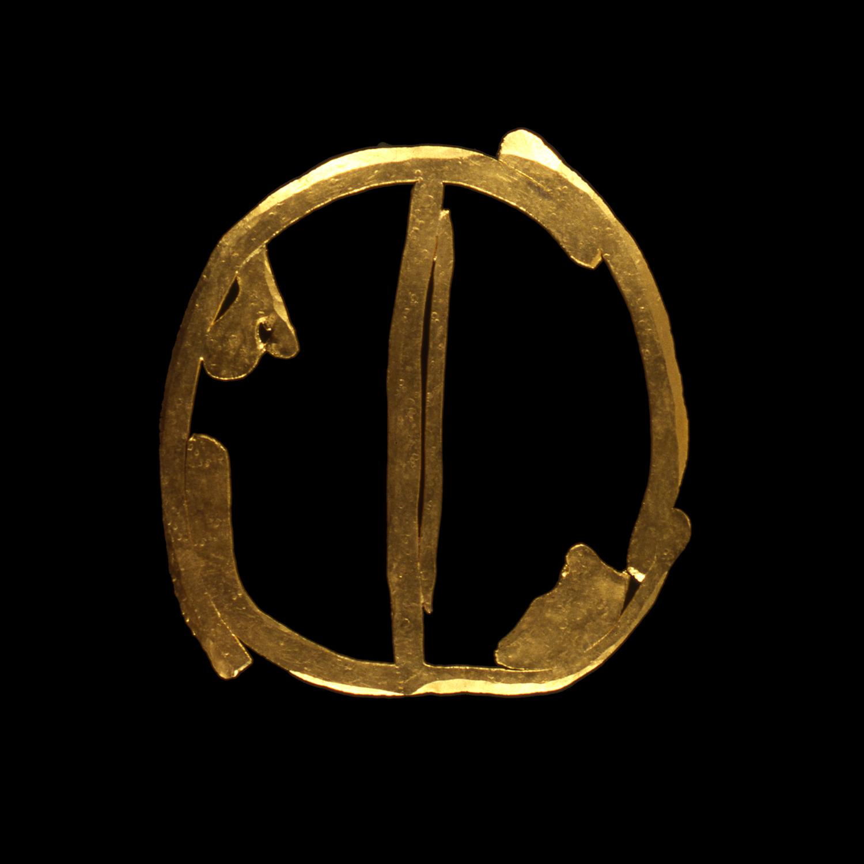 """1980s  24-karat gold, 2.5x3"""""""