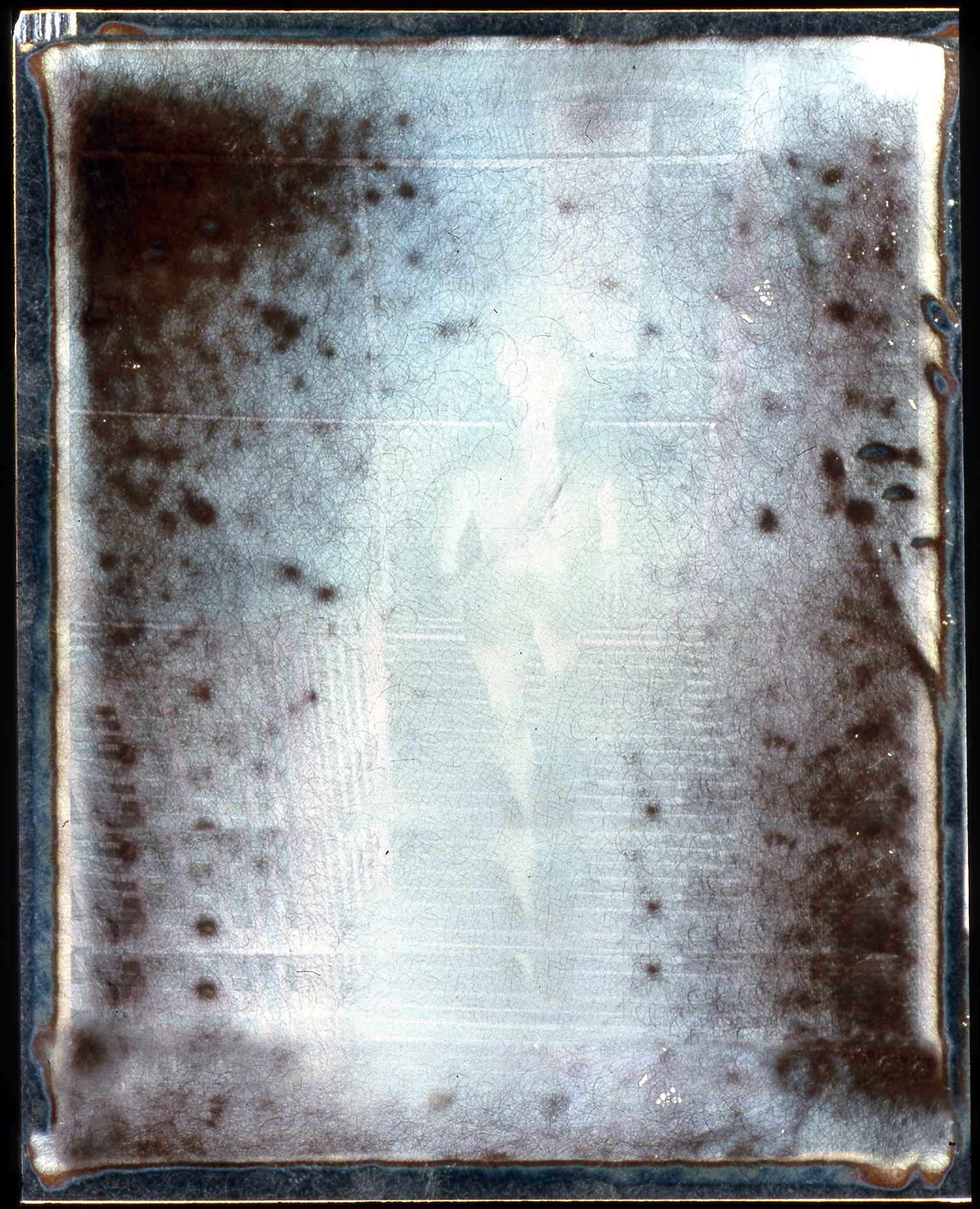 1977  Polaroid SX70 Negative, 4x3.5""