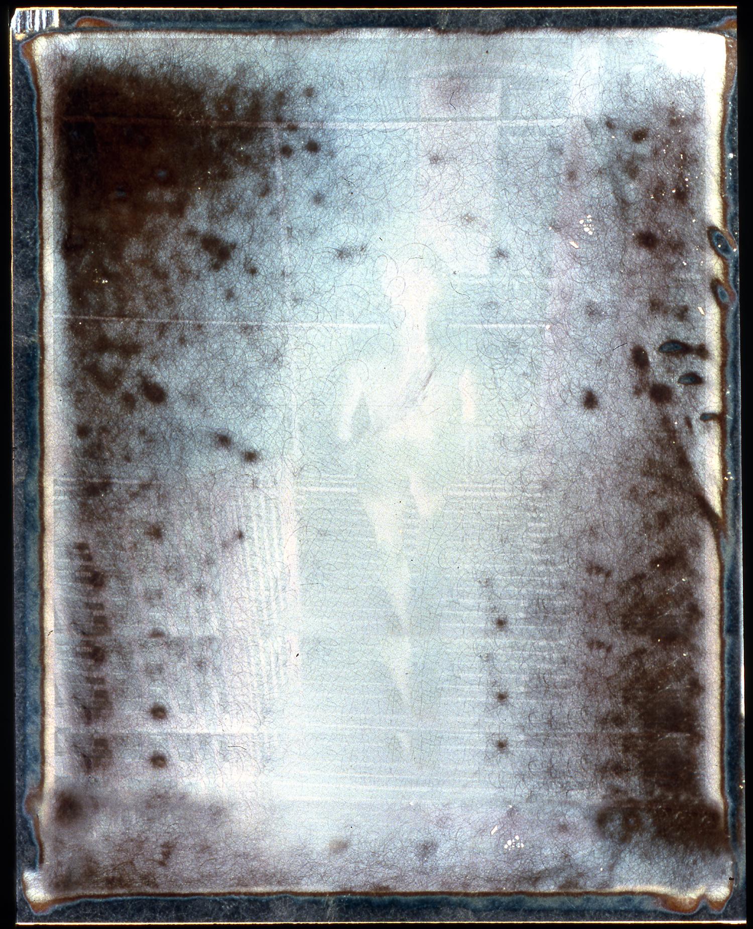 "1977  Polaroid SX70 Negative, 4x3.5"""