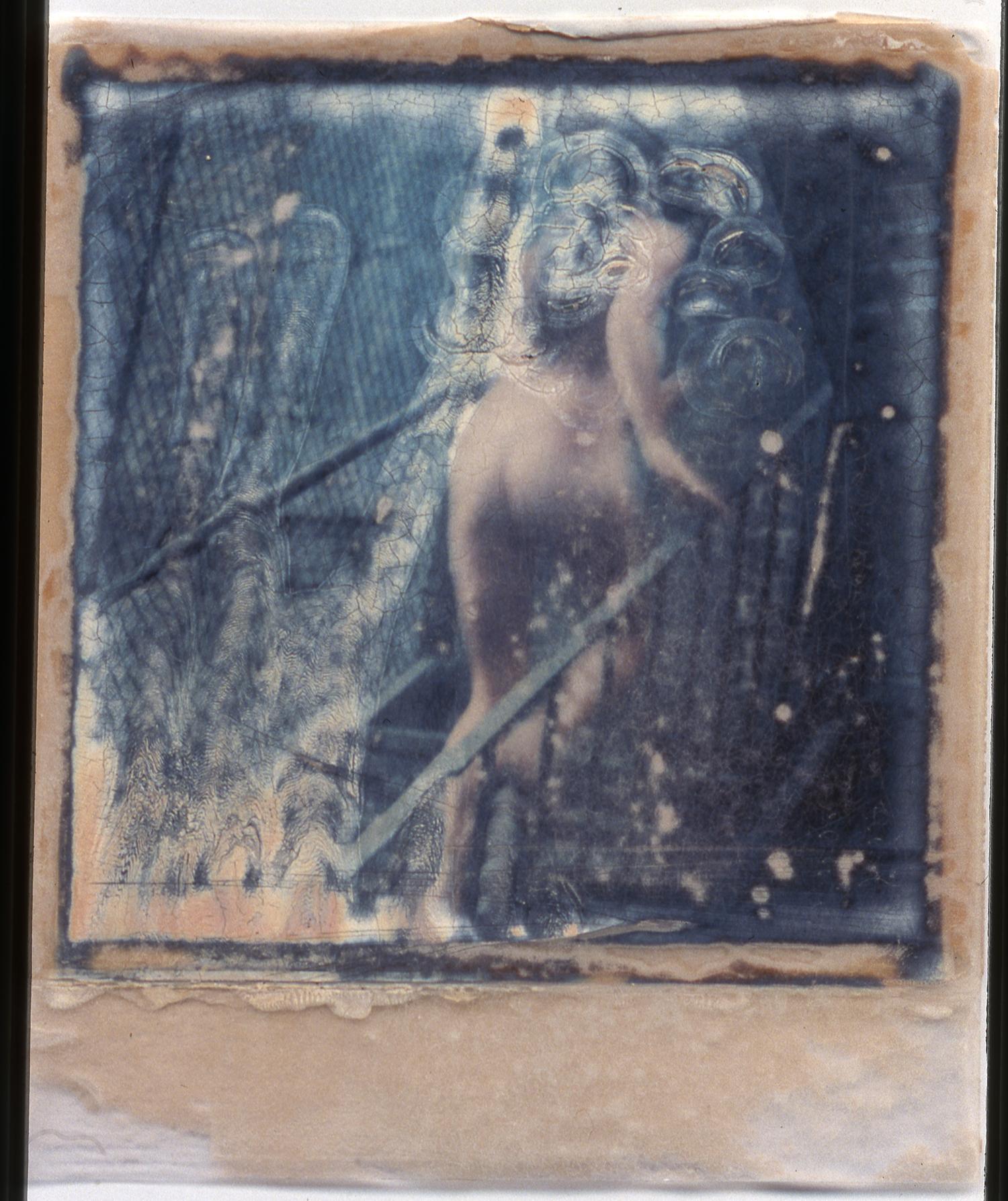 """1975  Polaroid SX70, 4x3.5"""""""