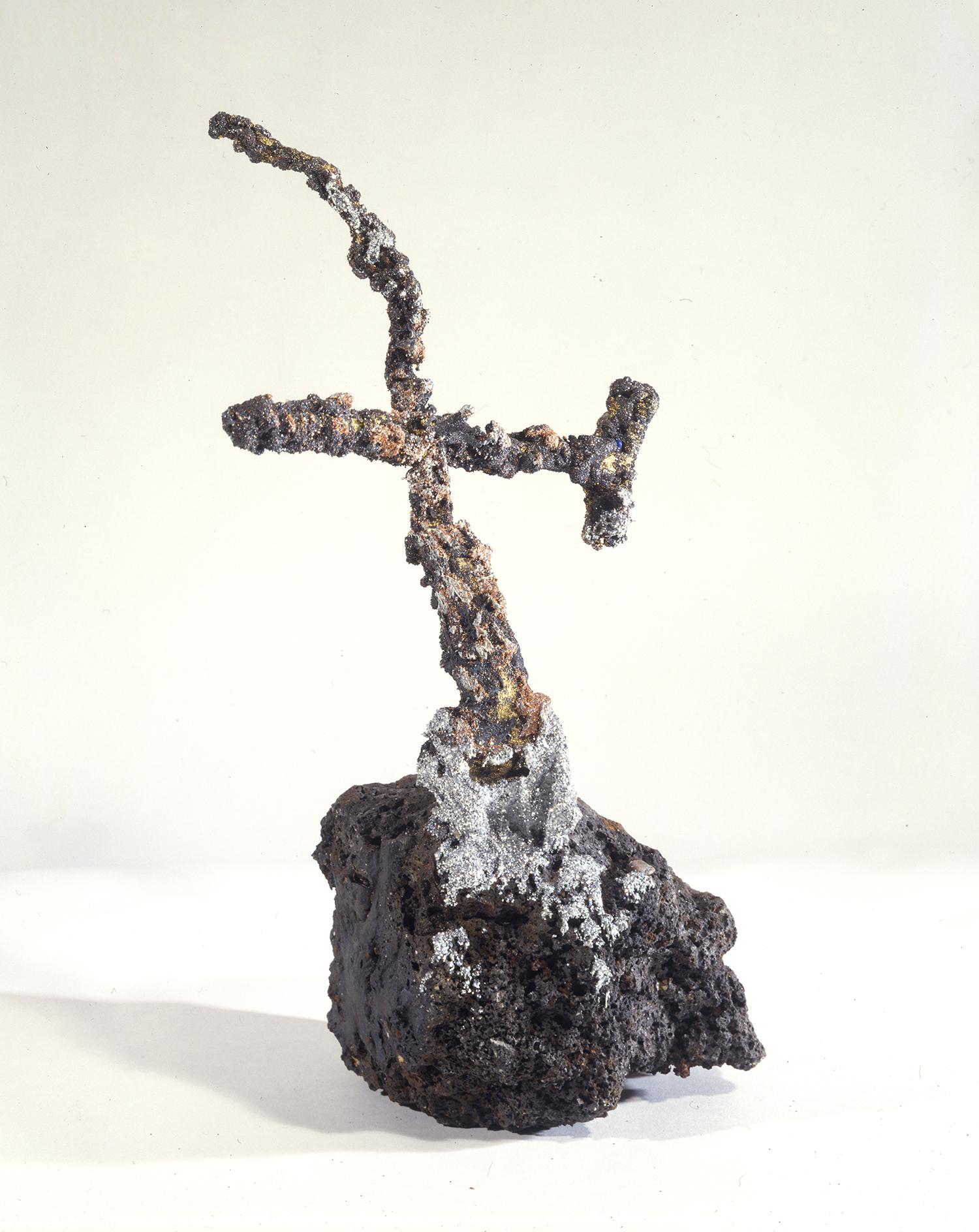 Moon Rock with Cross