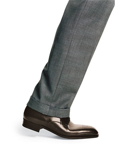 9. Thou shalt wear (polished!) brown shoes - with almost; everything.