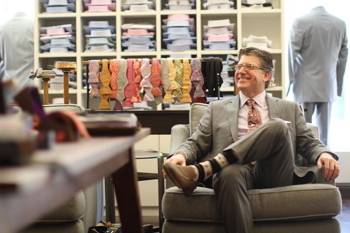 You're rarely a stranger in John Pickens' Clothier, but if you enter as one, you certainly won't leave as one.