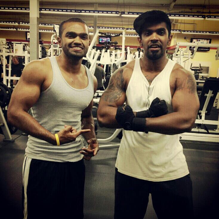 """""""Hey Charith Madawela thanks for sharing your knowledge on work out routines & all the diet schedules when you stayed in LA, hope to see you in LA again soon and all the best with your quest in changing peoples lives.. Train hard live long Brothers in Iron..""""   -Brindan J. (Glendale, CA)"""