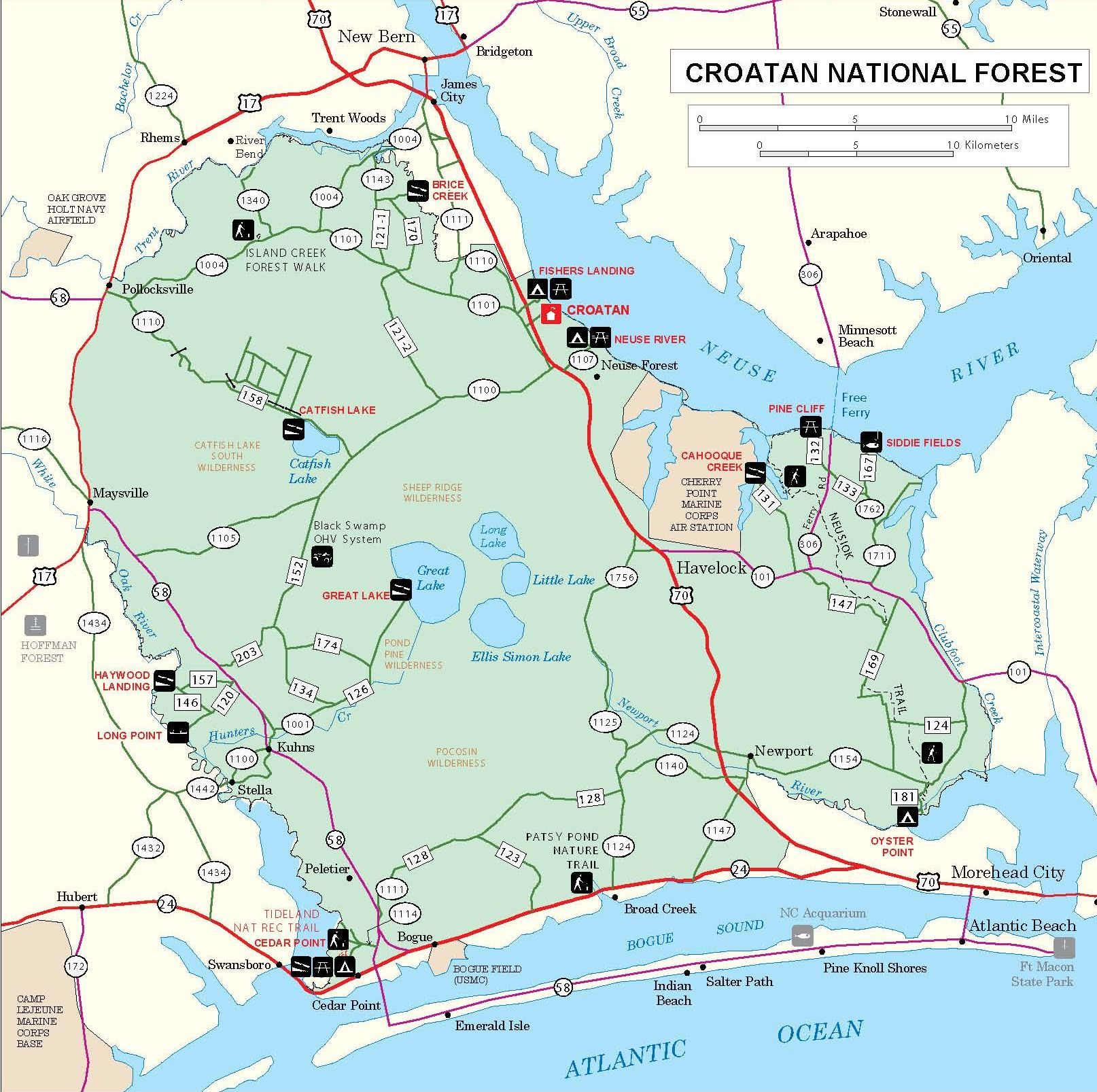 The Wilderness Areas of the Croatan National Forest — Our ...
