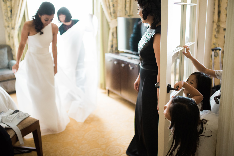 Four Seasons Boston Wedding Photography Luxury Documentary Getting Ready