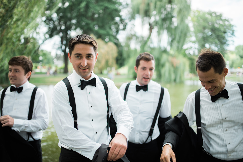 Four Seasons Boston Wedding Photography Luxury Documentary Groom Black Tie