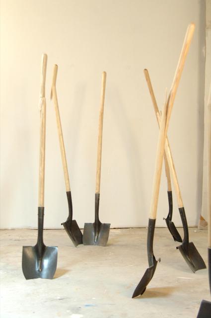 """Groundbreaking or In Advance of the Broken Shovel"""