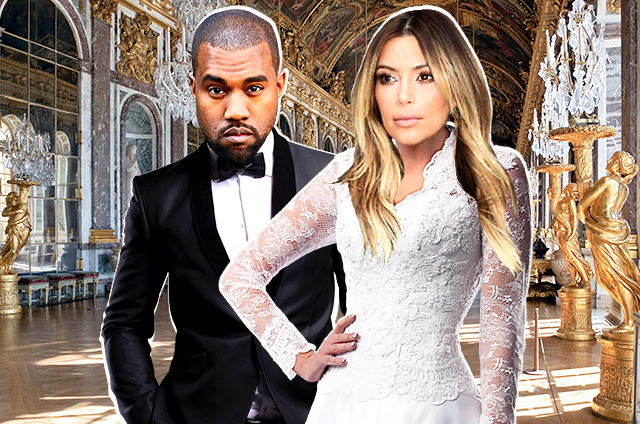 Kim's wedding rehearsal was in the Palace of Versailles (Photo: nymag.com)