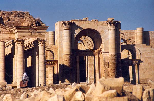 Hatra. Destruida por ISIS.