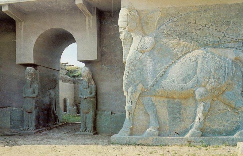 Nimrud. Destruida por ISIS.