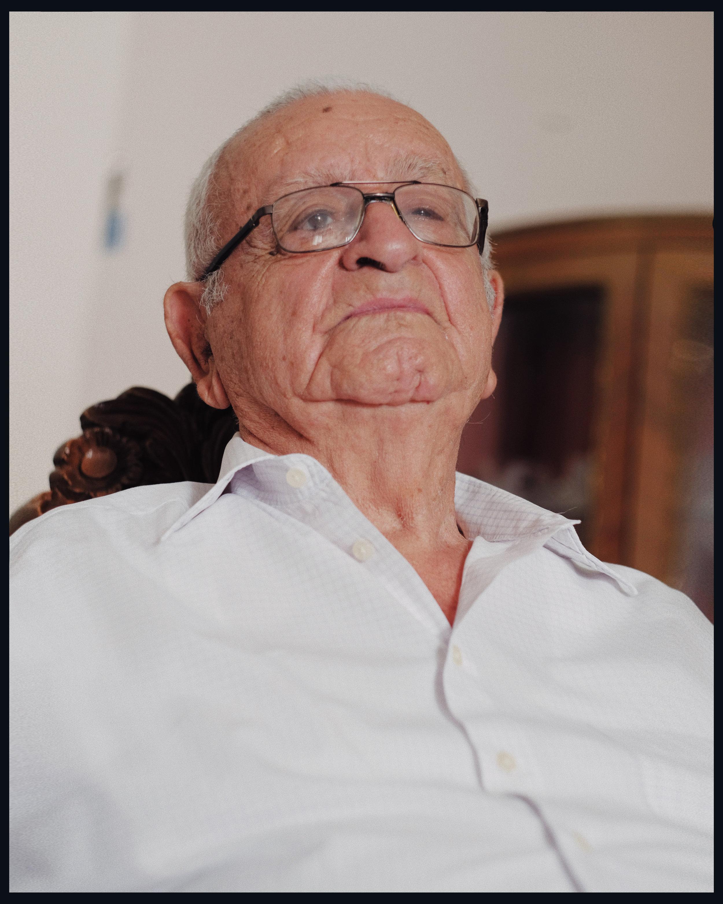 Suleiman Khaouli retratado por Adrián Diaz.