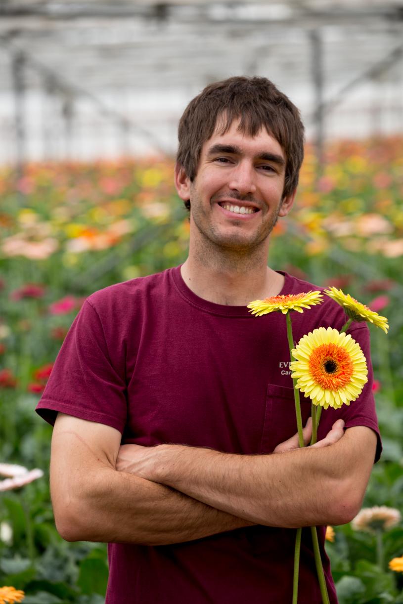 Ivan Van Wingerden, former GS Student, President of Ever-Bloom flowers of Carpenteria.