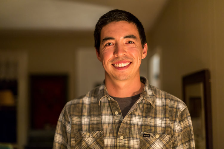 Andrew Yamagiwa , former GS student and employee, now working for the California Institute of Environmental Studies (CIES) doing native habitat restoration within Channel Islands National Park.